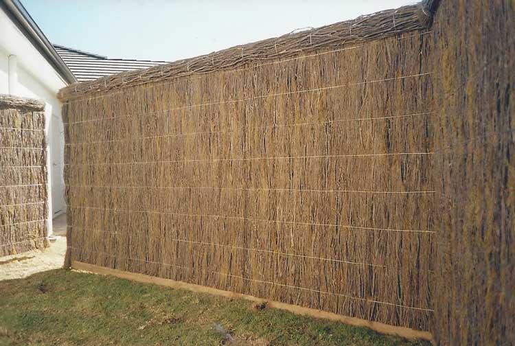 brushwood-fence